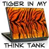 writing tiger