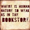 human weak in bookstore queensjoy