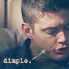 Living In Your Head Without Anything To Numb You..: Dean - Dimple