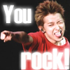 Yuki: You rock!