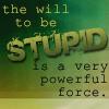 bujold stupid