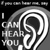 SS - can hear