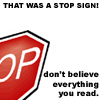 SS - stop sign