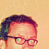 HUGH//WITH CUTE GLASSES.
