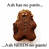 DendriteJungle: G-men - Ash needs no pants