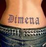 Dimena tattoo
