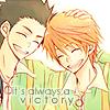 sengoku & minami // always a victory