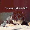 spikeNdru: *headdesk* by ruuger
