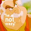 He Is Not Crazy!
