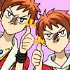 Ouran: Hikaru/Kaoru thumbs up