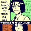 綾瀬川弓親 || Ayasegawa Yumichika: Feminine Side