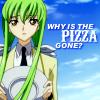 Code Geass: C.C. / Pizza Gone?