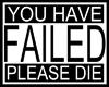 u fail!