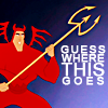 Eibhlin with a B: disney: kronk shoulder devil