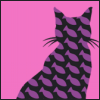 кот фиолетовый