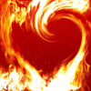 heart-flame by danielmc