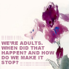 Grey's - we're adults when did that happ
