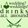 Wedding: Pirates Drinks