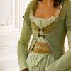 marie antoinette green dress