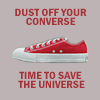 Genevieve: red converse by duskwillow