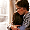 SPN Sam hugging Maddy colored