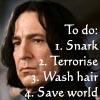 nyruserra: HP - Snape