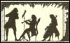 Музыканты.(старая открытка)