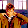 doctor who - fiddles with tie