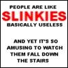 people are like slinkies
