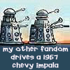 TV: Who-SPN: Dalek Impala