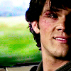 SPN: Sam's scratched face