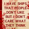 Misc - snarky ships