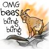 OMG Bees Bling Bling