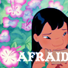Lilo Afraid