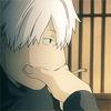 mushishi ginko pondering maho's case