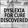 dyslexia for cure discovered