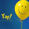 PSUbrat: balloon - smiley - yay!