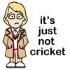 dr who cricket, cricket