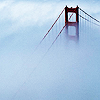 SF - Golden Gate in fog