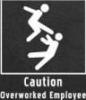 Caution_Overwork