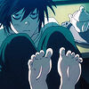 DeathNote - L Toes