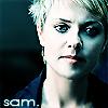 Sola: SG1 Sam pretty spikyhair cyan
