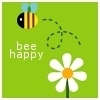 a little lost: bee happy