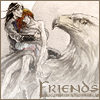 Maedhros and Fingon friends icon