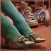 Diminutive of fox: Marie Antoinette's sneakers