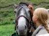 Только мы с конем....