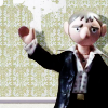 Sam puppet waves