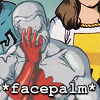 Comics - Cpt Atom - Facepalm