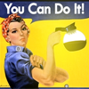you can do it, rosie and coffee