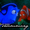 Dory - just keep swimming